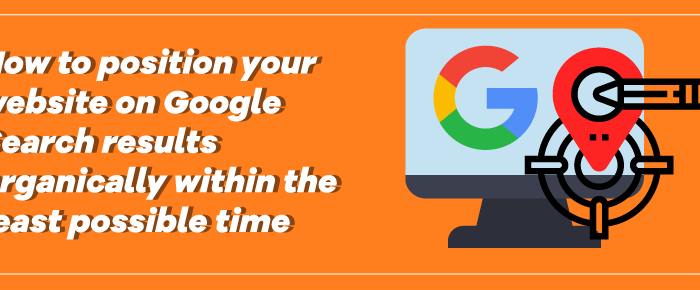 Let's situate your site at the highest point of Google!