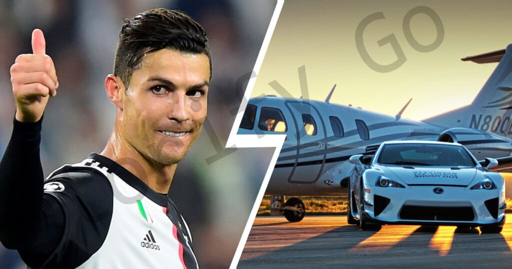 Ronaldo cars and assets