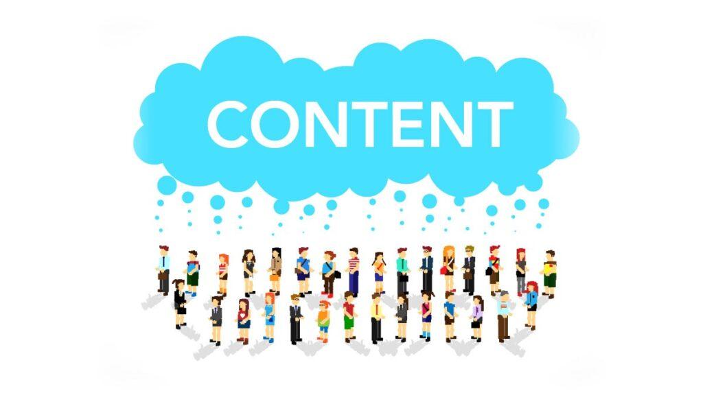 Create a content