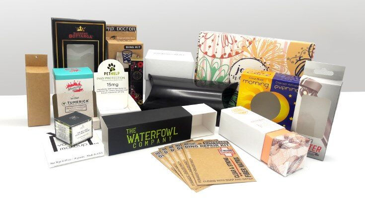 'beauty packaging boxes