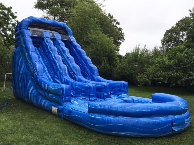 Dual-Lane Water Slides
