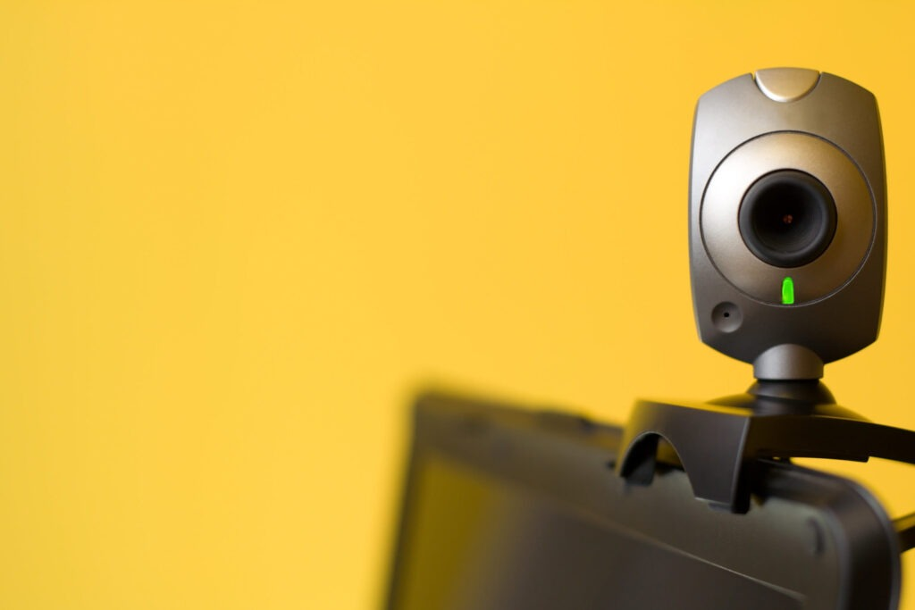 Record your webcam content