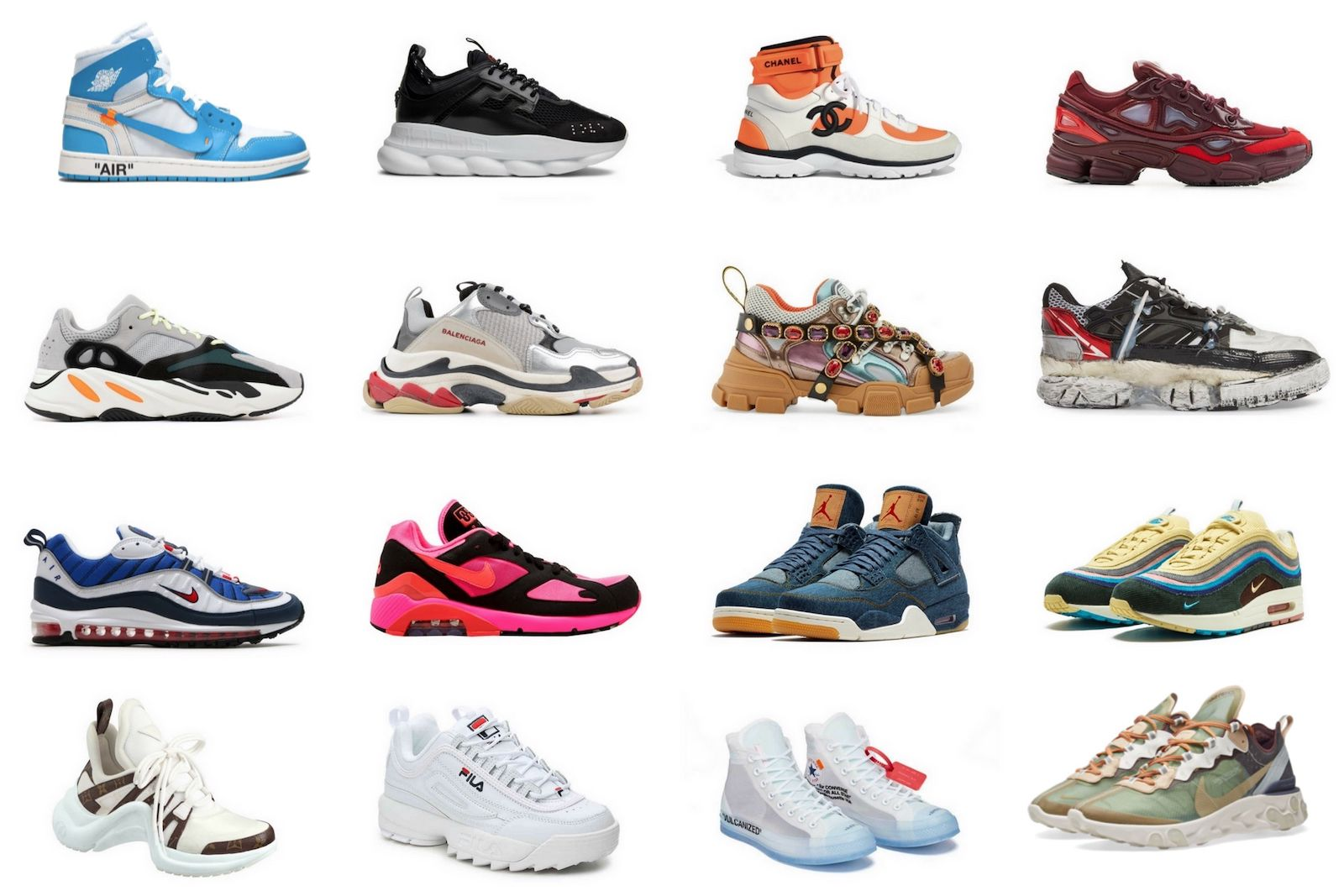 Sneaker Styles on the trend