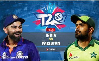 India vs Pakistan T20 live